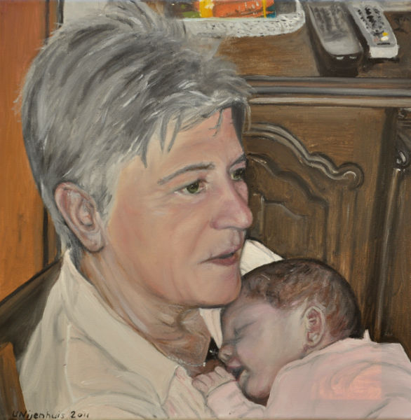 Wilma und Marie, Gemälde